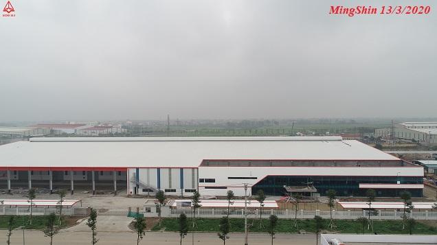 Dự án nhà máy MingShin Việt Nam