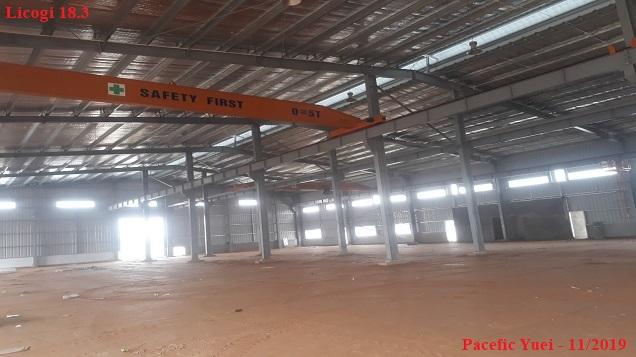 Dự Án Công Ty TNHH Pacific Yuei Việt Nam